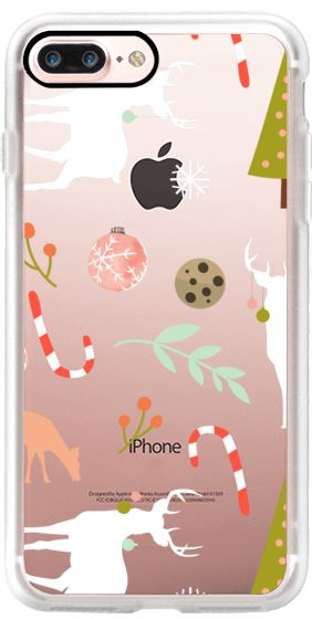 Casetify iPhone 7 Plus Classic Grip Case - Christmas spirit-iPhone & Ipod Case by Uma Gokhale #Casetify