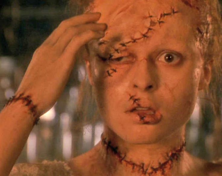 Helena Bonham Carter as Elizabeth. Mary Shelley's Frankenstein 1994 American horror film. This refers to research of the Bride Elizabeth