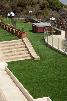 gazon synthétique de terrasse
