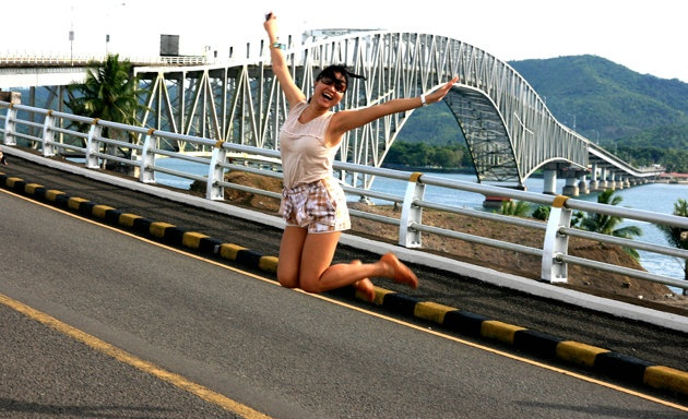 Want to cross this bridge.    Thriving Tacloban: What to do, where to go - Yahoo! News Philippines