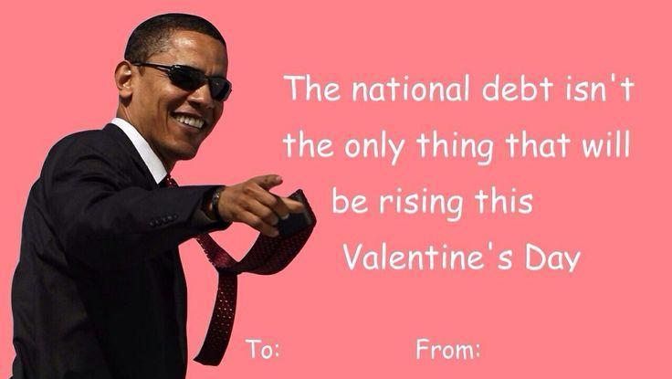 President Obama Valentines Day Card | Valentine Day Cards ...  President Obama...