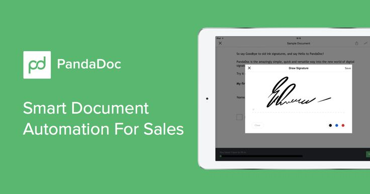 PandaDoc helps you to build and deliver sales quotes and proposals as well as track presentations and close deals faster with legally binding eSignatures.