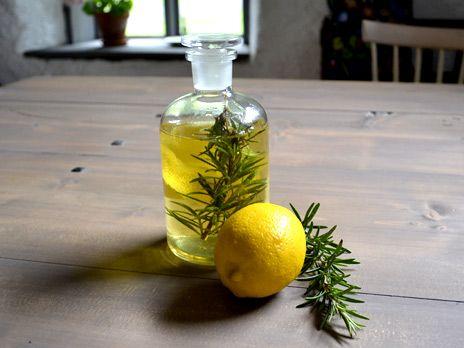 Rosmarin- och citronsnaps