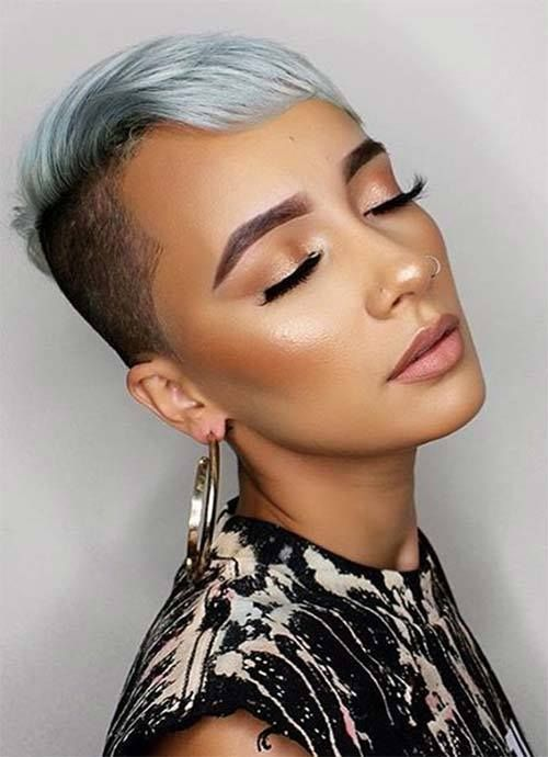 Short Hairstyles for Women: Undercut Pixie  #Hairstyles For Women    www.allhairstylesforwomen.com Tag a friend who Love this!
