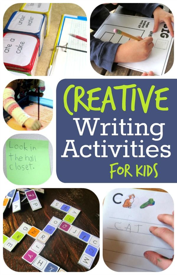 Creative writing ideas for kids