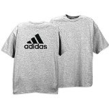 adidas Camp Tee - Men's ( sz. L, Grey/Black ) (Apparel)By adidas