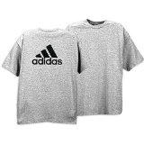adidas Camp Tee - Men's ( sz. L, Grey/Black ) (Apparel)By adidas