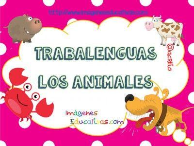 Trabajamos con trabalenguas de animales, conciencia lingüística