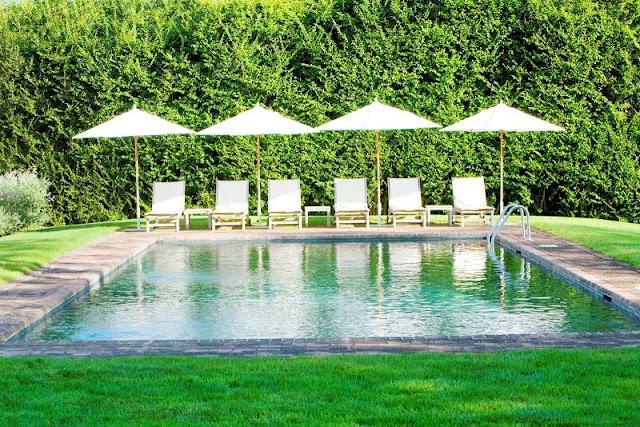 great pool - lawn