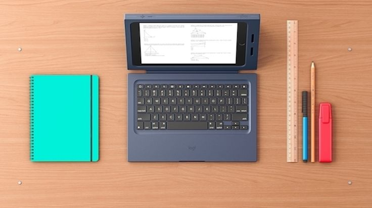 新型iPadがPCみたいに。Logitechの学校向けキーボードケース 1