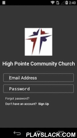 MyHighPointeCC  Android App - playslack.com ,  The MyHighPointeCC App is now available for you to connect with the Lord through daily scripture reading and what's happening around High Pointe Community Church.