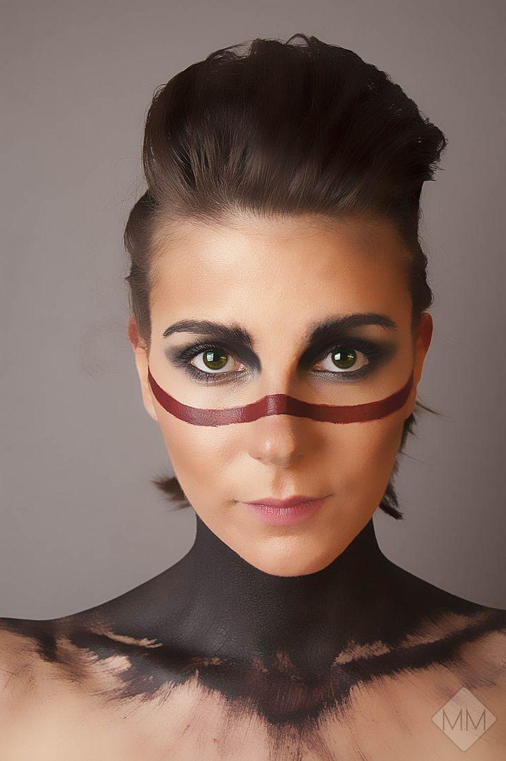 """""""War Paint"""" part 4  Self portrait By Mandy Mennen Photography"""