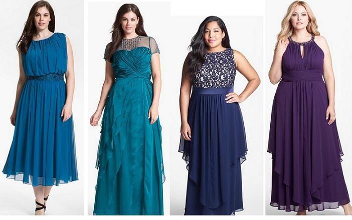 Модное французское женское платье