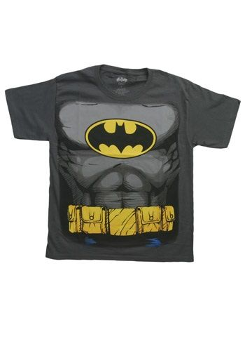 Boys Batman Costume T-Shirt