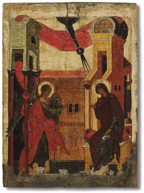 516 Благовещение, из праздничного чина иконостаса