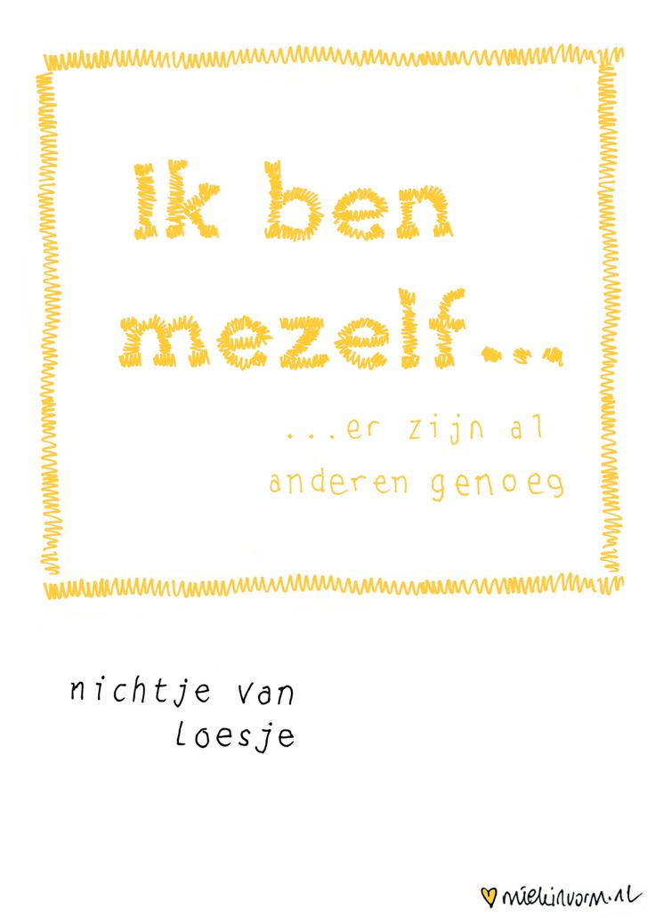 Day199 - 18 july > 365-days-a-letter Illustration: by miekinvorm.nl