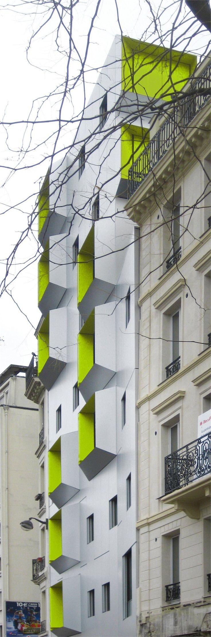 DPU Social Housing, Paris 18, 2009