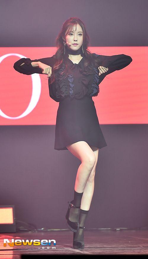 티아라 효민 '올 블랙 패션'