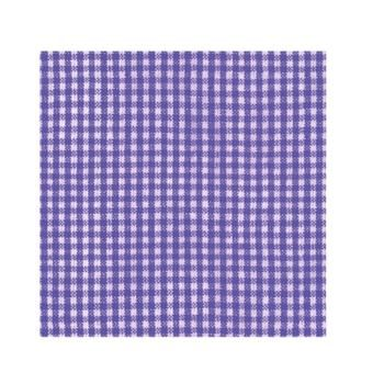 Amscan Lunch Napkins Pack of 20 Gingham Purple