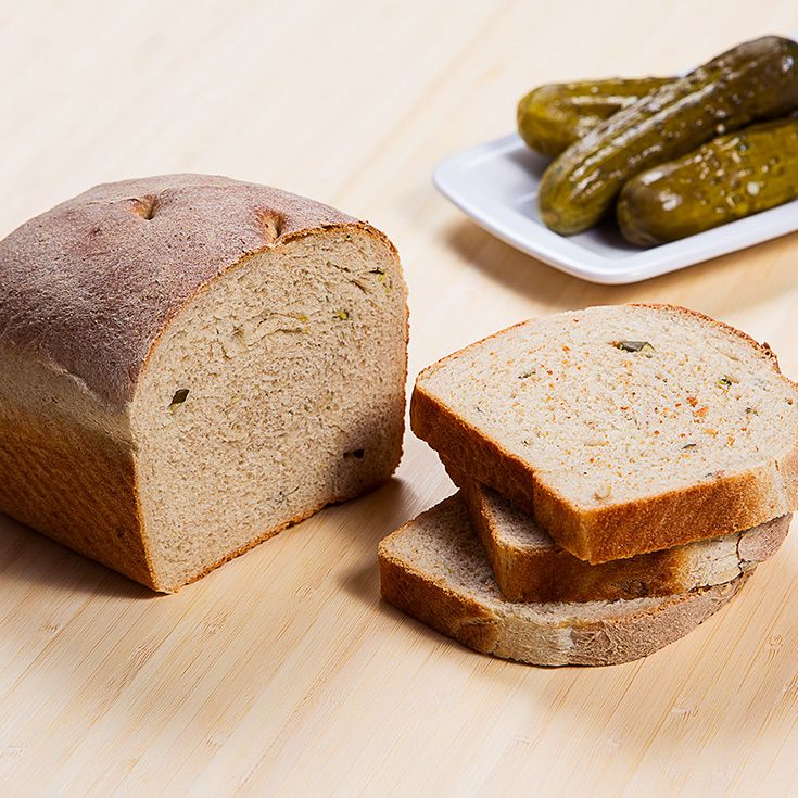 We've got the perfect solution to leftover pickle juice: pickle juice bread. Any sandwich you'd want to eat with a pickle can be made better by pickle juiced-up bread.