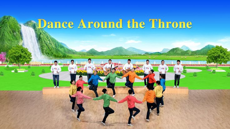 "Kingdom Life Is Wonderful | Praise and Worship ""Dance Around the Throne"""