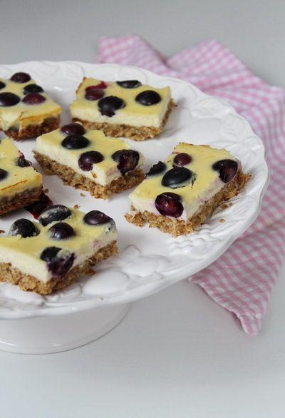 Zabpelyhes áfonyás cheesecake