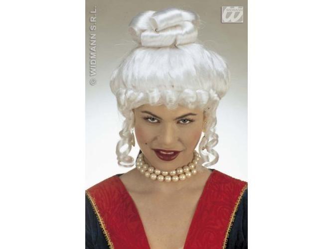 Jolanda - grófnő paróka, fehér