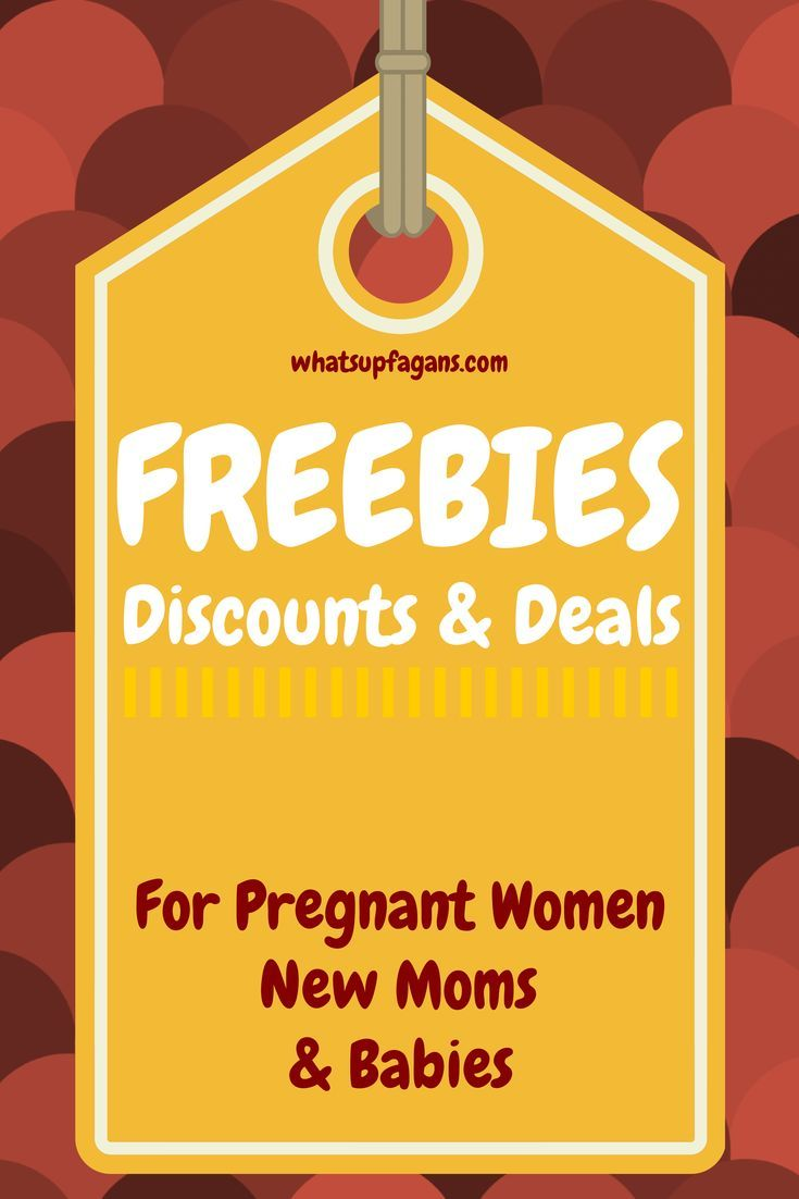 Big list of discounts, deals, and freebies for new moms, pregnant women, and babies. So many great freebies to be had or cheap baby stuff! save money on babies, #SaveMoney #Money