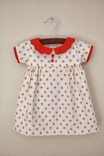 yo elijo coser: Patrón vestido niña y tutorial