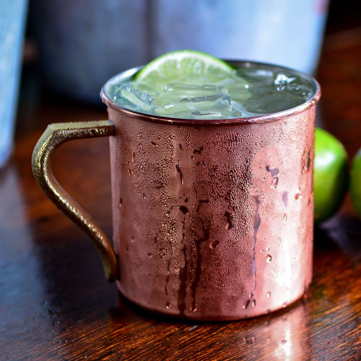 Organic Moscow Mule Cocktail Recipe | Liquor.com  Ingredients: - 2oz Square One Organic Vodka - 3oz Ginger beer - Juice of half a lime  | Type    : Classics | Served : On the rocks | Garnish: Lime wheel | Glass  : Moscow Mule mug/ highball