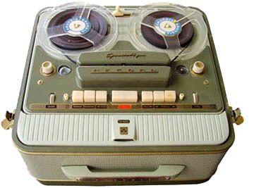 Grundig tape recorder.  1955 Grundig TK820