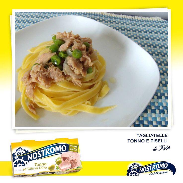Un piatto semplice ma gustoso e genuino, da veri navigatori? Provate le tagliatelle Tonno e Piselli. Trovate la ricetta completa sul blog di Rosa: http://kreattiva.blogspot.it/2013/09/tagliatelle-tonno-e-piselli.html  Seguite la pagina Facebook di Nostromo per non perdere le ultime ricette: https://www.facebook.com/Nostromo.it  #recipe #ricetta #tonno #tune #piselli #peas #tagliatelle