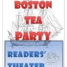Your students will have fun learning about the Boston Tea Party with this readers' theater script.  What a great way to practice oral reading fluency and learn about the important events that shaped our history.  On sale at TpT.  Check it out!
