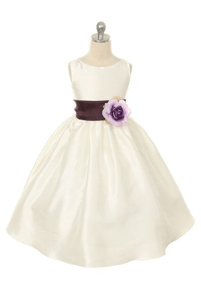 Sleeveless Flower Girl Dress with Organza by SomeLovelyDresses, $45.00
