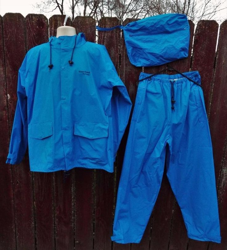 Tingley Rubber S66211 Storm Champ 2 Piece Rain Suit Large, Blue New Storage bag #Tingley #Rainwear