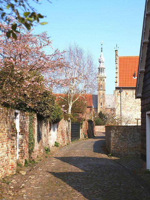 Veere Street - Veere, Holland - Netherlands