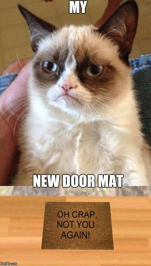 Yessss!! I'd love to have this door mat..