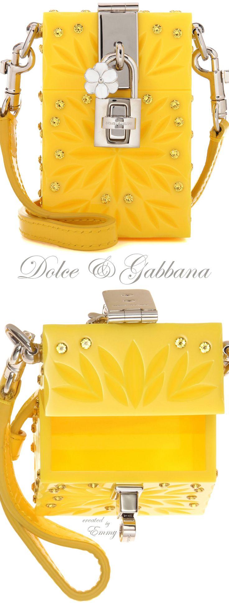 Emmy DE * Dolce & Gabbana Dolce Box Cinderella Mini shoulder bag
