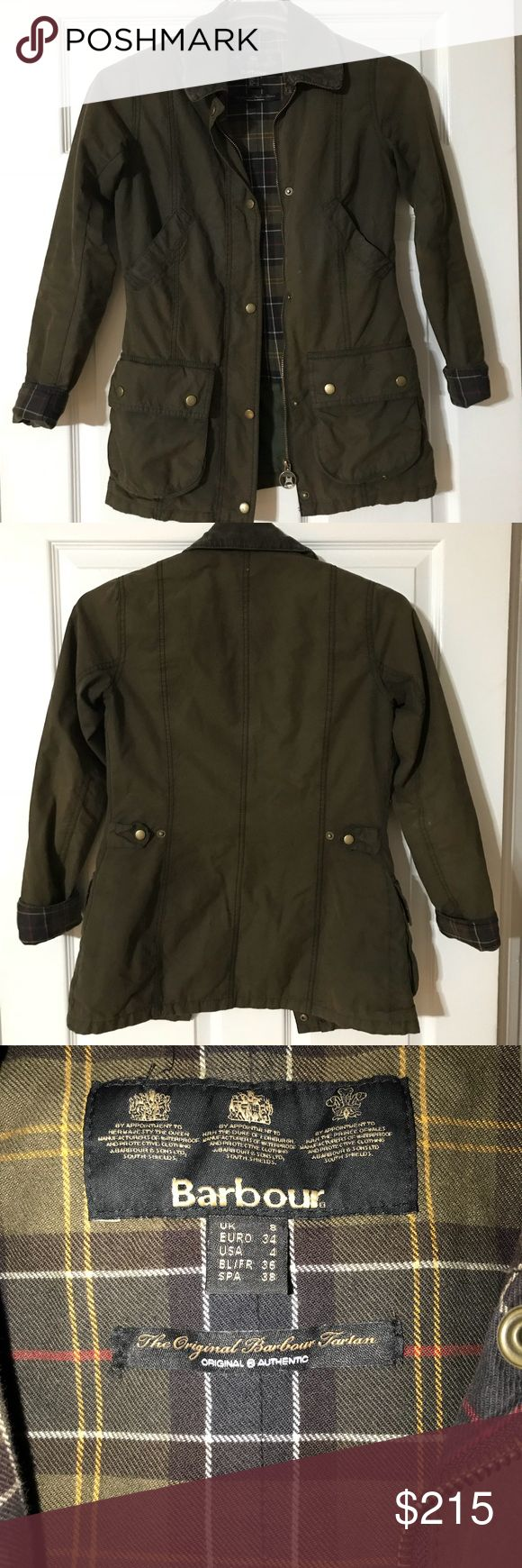 Barbour Beadnell Wax Jacket This jacket is in great condition and has a lot of life left in it! Barbour Jackets & Coats Utility Jackets