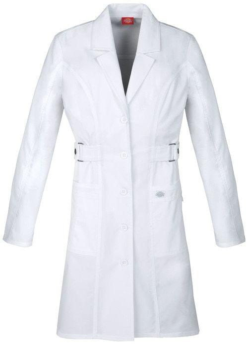 Dickies Medical 82410 Bata de Laboratorio Manga Larga para Mujer ...