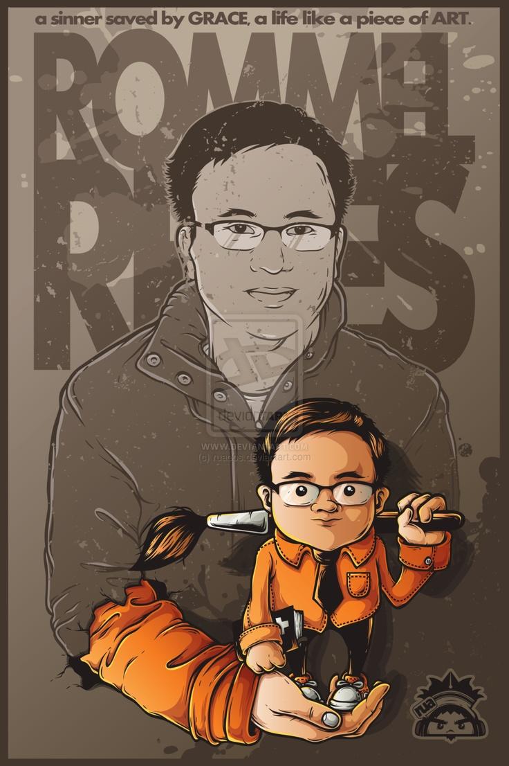 rommel reyes by ~ruados
