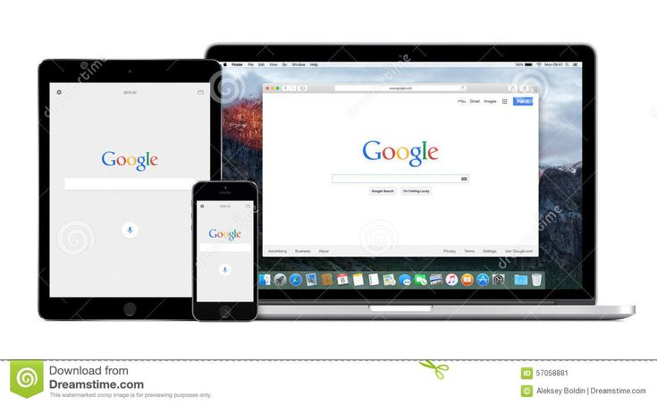 Google App On The Apple IPhone IPad And Apple Macbook Pro Retina - Download From Over 66 Million High Quality Stock Photos, Images, Vectors. Sign up for FREE today. Image: 57058881