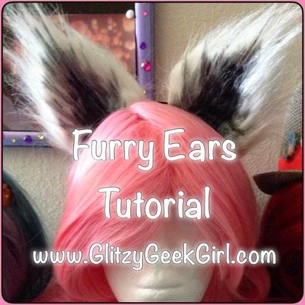 After watching the incredible Commander Holly make a Rocket Raccoon cosplay for SDCC, I was inspired to make some raccoon ears myself! I figured this would be fun to wear to the premiere of the Guardi