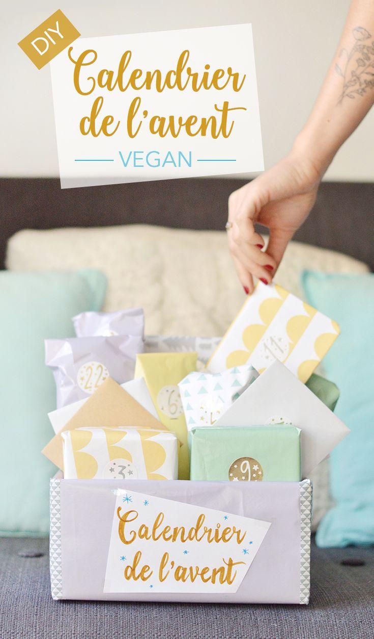 Pour attaquer le mois de décembre, je vous propose de fabriquer un calendrier de l'avent vegan ! Une chouette idée à offrir ou à garder pour soi ! www.sweetandsour.fr