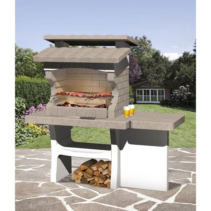 17 meilleures id es propos de barbecue en beton sur for Photo de barbecue exterieur