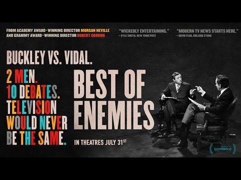 Gore Vidal vs Bill Buckley in 'Best of Enemies' Documentary Trailer | FirstShowing.net