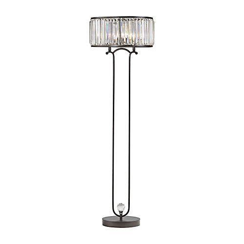 La lampe à pied Rudolfo de 65po nécessite deux ampoules et est offerte dans un fini bronze. Nous offrons une vaste sélection de lampes à pied qui non seulement éclaireront votre pièce, mais sharmoniseront à merveille à votre décor. Chaque lampe est faite à la main à partir de matériaux de qualité. Pour éclairage intérieur seulement. #LampPied