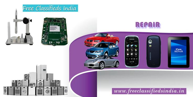 Here is a complete list of #repair service providers in you locality. http://freeclassifiedsindia.in/services/repair