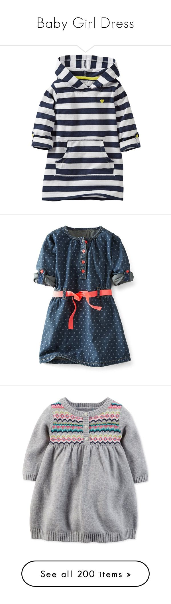 """Baby Girl Dress"" by alejaborrayo ❤ liked on Polyvore featuring girls, kids, baby girl, girls dresses, baby, dresses, pink short sleeve dress, pink jersey dress, short sleeve dress and organic cotton dresses"