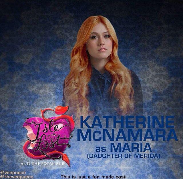 Katherine McNamara as Maria the daughter of Merida